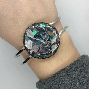 Jewelry - Handmade galaxy bracelet.